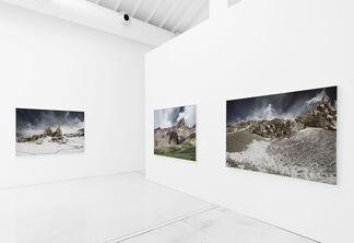 "Michael Najjar - ""high altitude - financial markets between reality and simulation"", installation view"