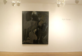 Kyle Staver: Recent Paintings, installation view