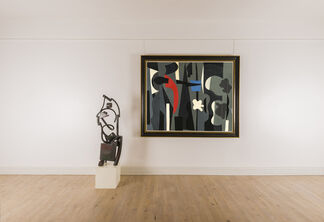 Caziel: Abstraction Explored, installation view