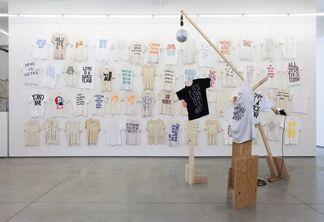 "Alex Bag and Marc Hundley - ""Program"", installation view"