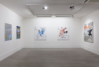Im/material: Painting in the Digital Age, installation view