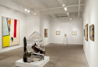Artists of the New York School, installation view