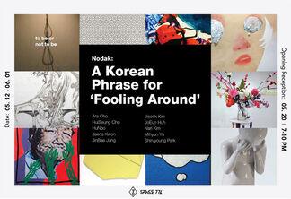 Nodak : A Korean phrase for ' fooling around', installation view
