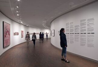 Painting, Smoking, Eating – late works by Philip Guston, installation view
