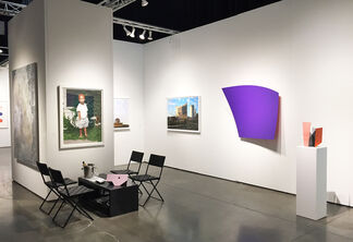David Klein Gallery at Seattle Art Fair 2017, installation view