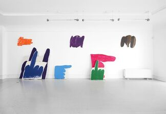 James English Leary - Half a Mississippi Steamboat, installation view
