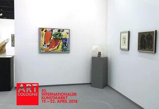 Galerie Moderne Silkeborg at Art Cologne 2018, installation view