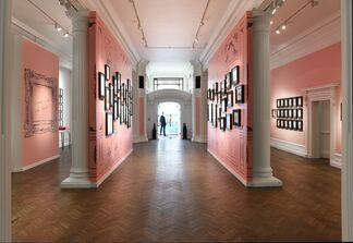 An Exhibition of Early Illustrations by Andy Warhol, installation view