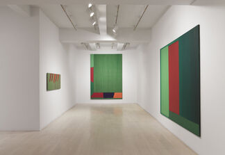 John Hoyland: Stain Paintings 1964 –1966, installation view