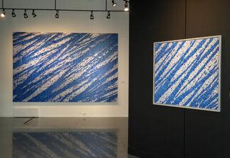 Histoire de bleu, installation view