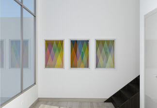 Cruz-Diez: Obra gráfica, installation view