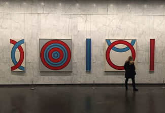 Tadasky: Series D at 499 Park Avenue, installation view