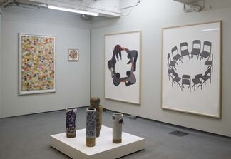 Stay Gold - Todd James, Geoff McFetridge, Barry McGee and Thomas Campbell, installation view