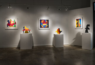 Maquettes + Studies By: David Hayes, installation view