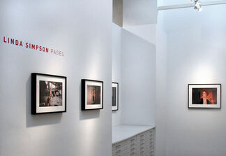 Linda Simpson   Pages, installation view