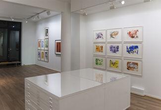 Adam Saks and Kjell Nupen, installation view