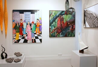 What's Behind The Black Door This Month?- May, installation view