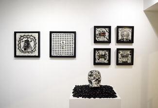 Takanao Kaneko's solo show : Black Noise, installation view