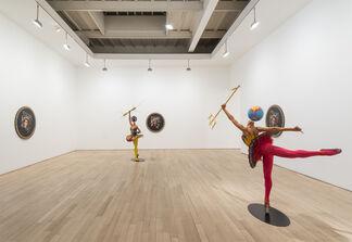 YINKA SHONIBARE MBE: Rage of the Ballet Gods, installation view