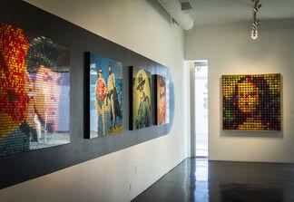 Speedy Graphito : NEWWORLDS, installation view