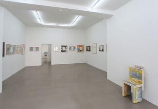 Art & Language: Letters to The Red Krayola, installation view