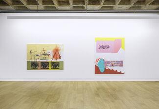 Emil Holmer - Donkey Embrace, installation view