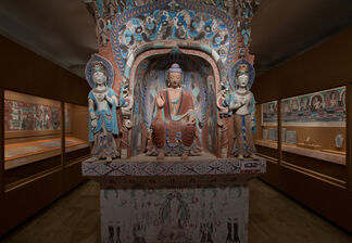 Dunhuang: Buddhist Art at the Gateway of the Silk Road, installation view