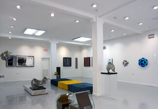 The Color Rides in Coral Gables, installation view