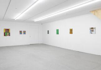 Jean-Frédéric Schnyder - Am Thunersee 1-38, installation view