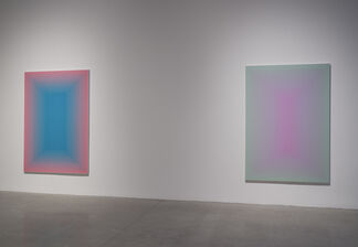 Wang Guangle: Duo Color, installation view