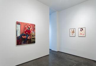 Three Women: Nadine Faraj, Alonsa Guevara, Patty Horing, installation view