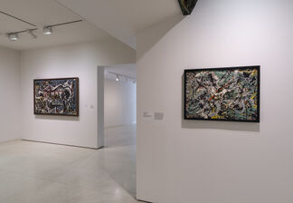 Away from the Easel: Jackson Pollock's Mural, installation view