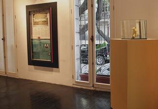 Peripatéticos, installation view