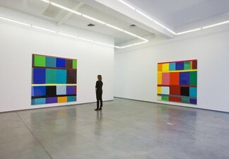"""Stanley Whitney - """"Left to Right"""", installation view"""