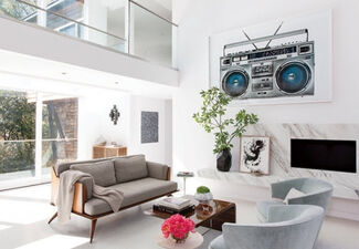 The Boombox Project, installation view