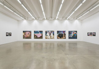 From here to now and back again, installation view