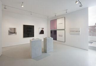 Wall Rockets, installation view