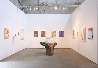 Greenpoint Terminal Gallery at NEWD Art Show 2015, installation view
