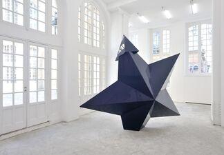 Mark Handforth - Deep Violet, installation view