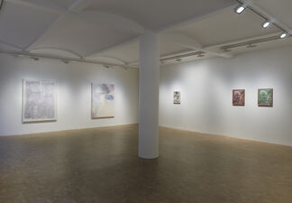 Soaked, Not Resting, installation view
