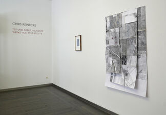 Chris Reinecke: Zeit und Arbeit. Momente | Time and Work. Moments – works from 1965 until 2016 | curated by Dr. Susanne Rennert, installation view