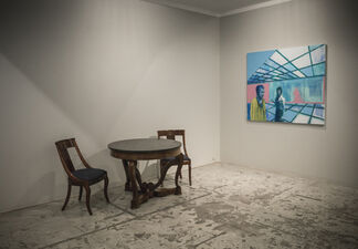 Kenneth Blom, installation view