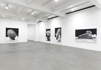 Vera Lutter: Turning Time, installation view