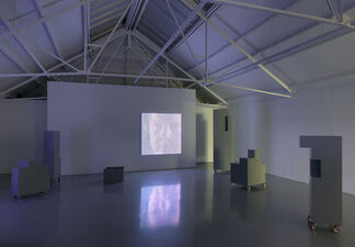 Gabriel Lester: Forced Perspective - Encounter of Kinds, installation view
