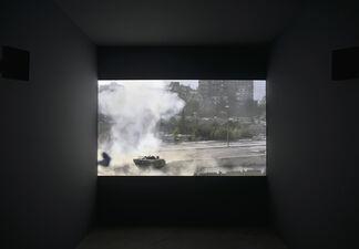 Dara Birnbaum: Psalm 29(30), installation view