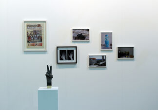 Michaela Stock at Artissima 2015, installation view
