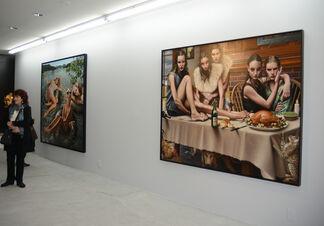 Jorge Santos: Paintings, installation view