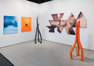 Shulamit Nazarian at Art Los Angeles Contemporary 2017, installation view