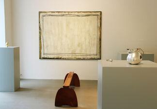 "Vienna_AAA: ""Figuras"" - Aldo BAKKER & Joan HERNÁNDEZ PIJUAN, installation view"