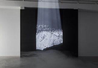When the world is left only black and grey, installation view